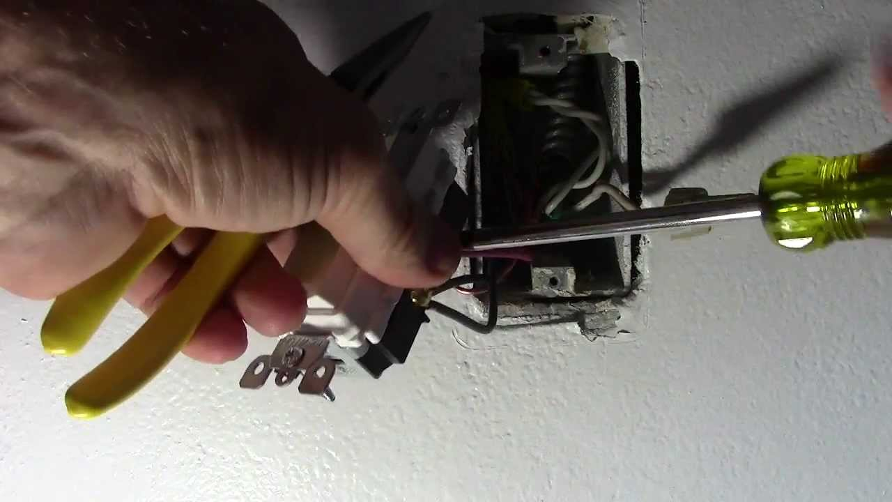 How To Put Your Ceiling Fan And Light On Separate Switches - Youtube - Wiring Diagram For Ceiling Fan With Light