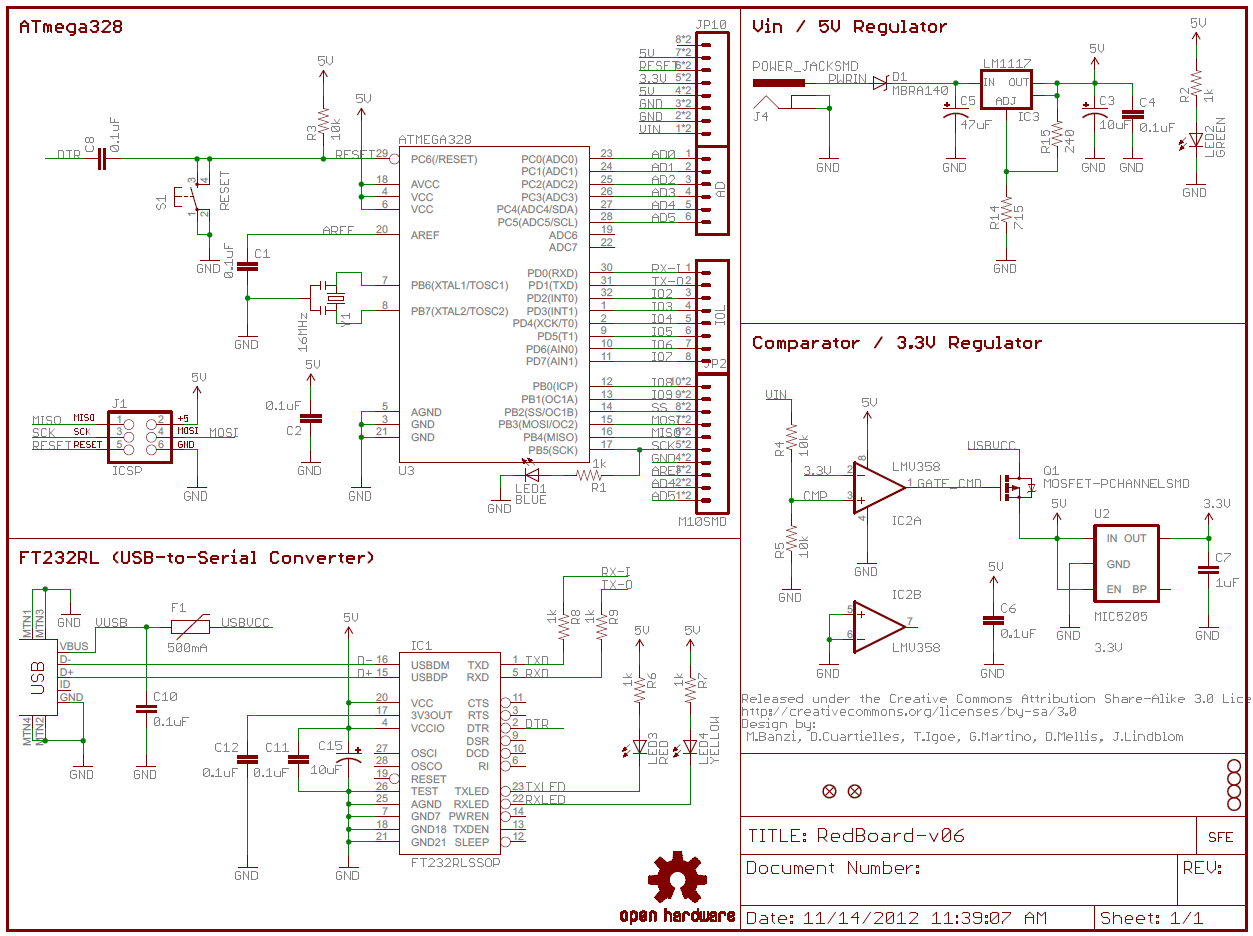 How To Read A Schematic - Learn.sparkfun - Basic Wiring Diagram