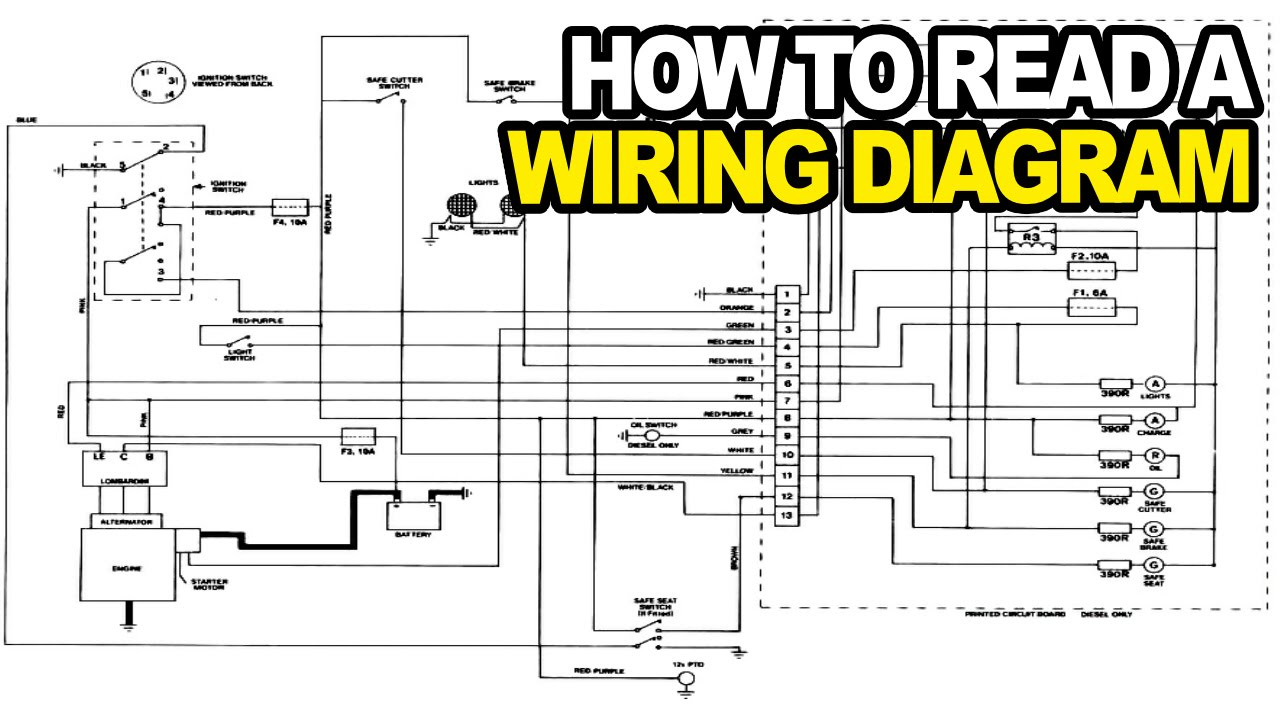 How To: Read An Electrical Wiring Diagram - Youtube - Simple House Wiring Diagram Examples