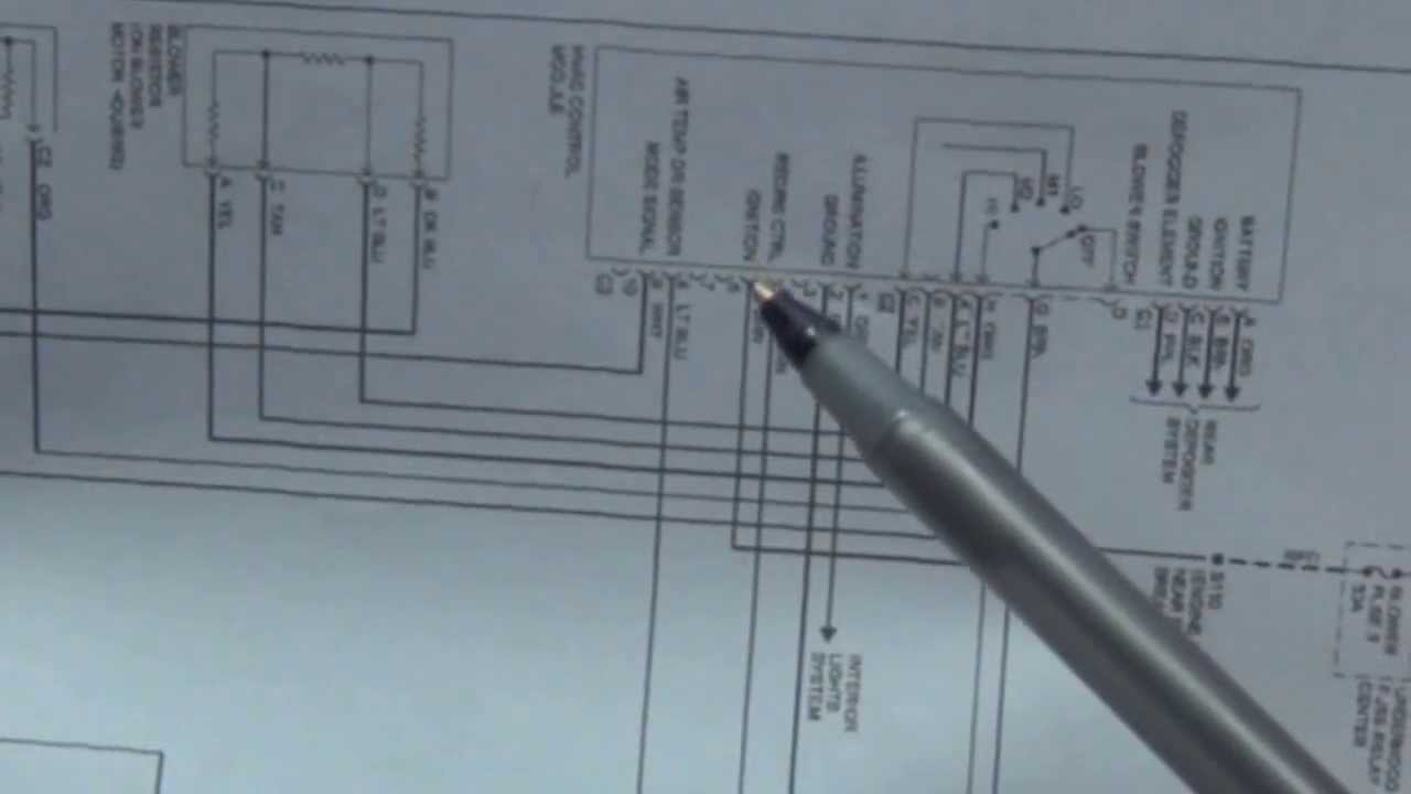 How To Read Wiring Diagrams (Schematics) Automotive - Youtube - Automotive Wiring Diagram Symbols