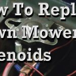 How To Replace Lawn Mower Solenoids, With Wiring Diagram   Youtube   3 Pole Starter Solenoid Wiring Diagram