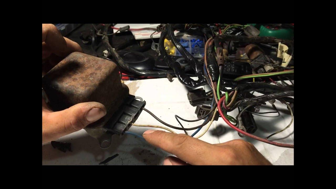 How To Rewire Alternator Wiring Harness For Internally Regulated Gm - Alternator Wiring Diagram