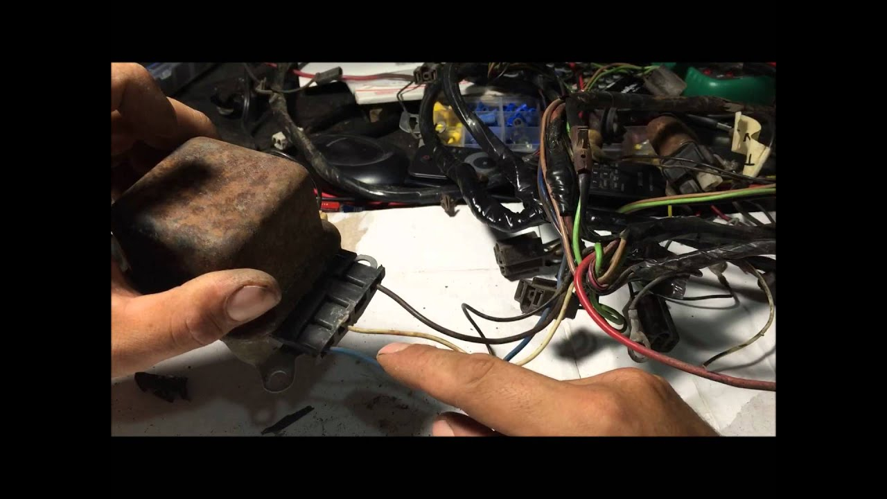 How To Rewire Alternator Wiring Harness For Internally Regulated Gm - Gm 3 Wire Alternator Wiring Diagram