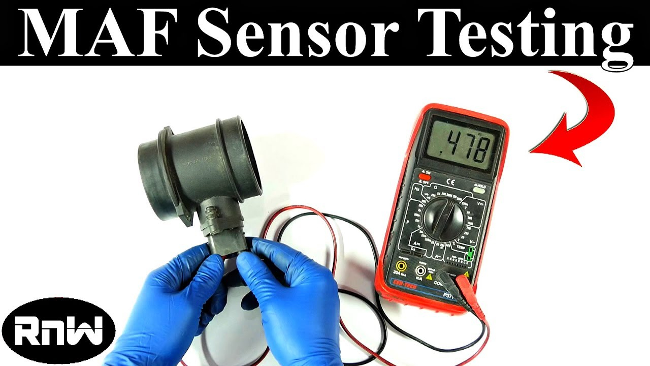 How To Test A Mass Air Flow Maf Sensor - Without A Wiring Diagram - Mass Air Flow Wiring Diagram