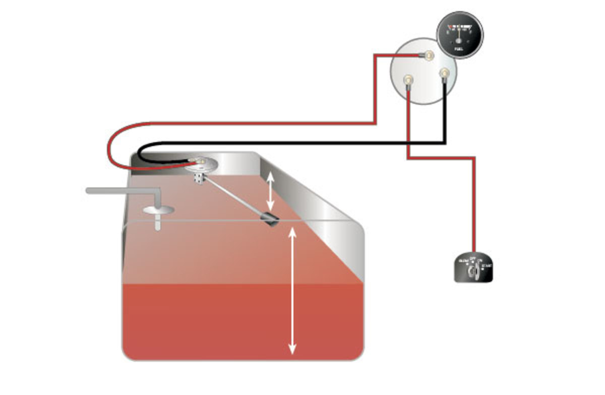 How To Test And Replace Your Fuel Gauge And Sending Unit - Sail Magazine - Universal Fuel Gauge Wiring Diagram