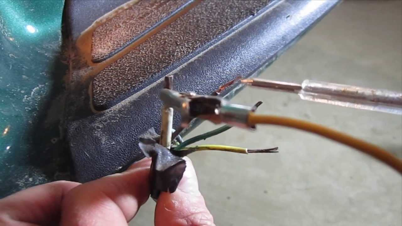 How To Test And Wire Trailer Lights Using A Hopkins 4 Flat Connector - Hopkins Trailer Connector Wiring Diagram