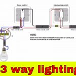 How To Wire 3 Way Lighting Circuit   Youtube   3 Way Light Switching Wiring Diagram