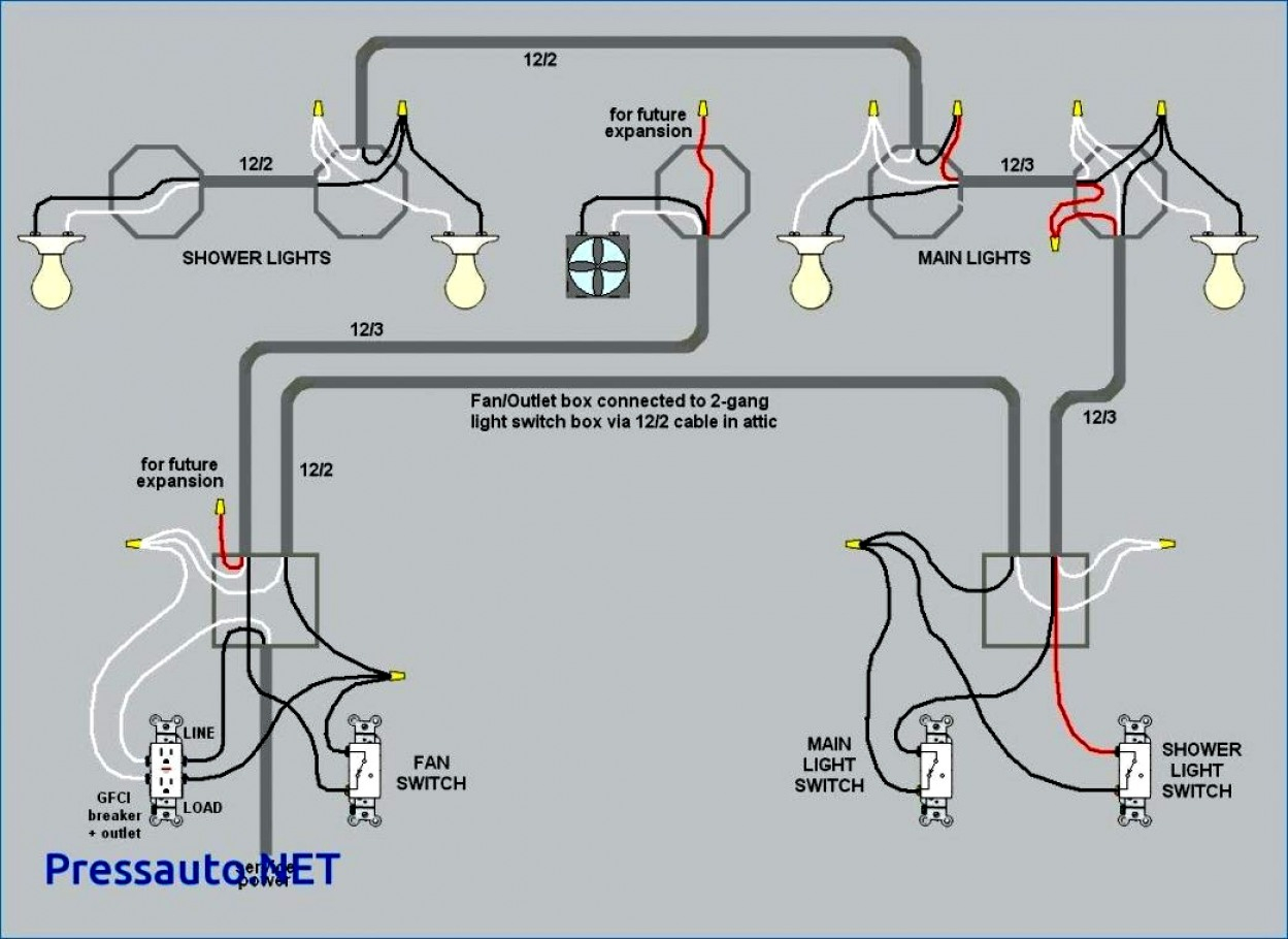 How To Wire A 3 Way Switch With Video - Wiring Diagram Name - Wiring Diagram For 3 Way Switch