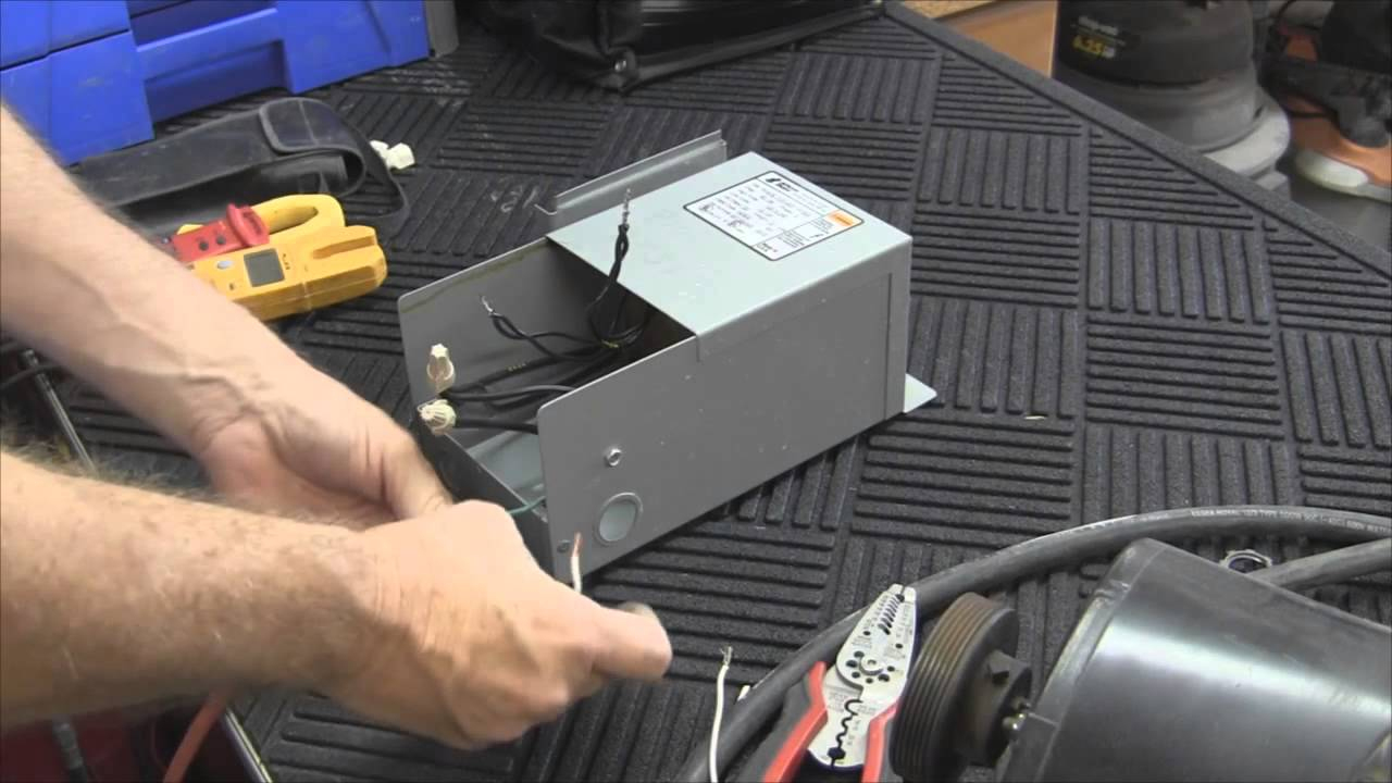 How To Wire A Buck Boost Transformer - Youtube - Buck Boost Transformer Wiring Diagram