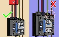 How To Wire A Contactor: 8 Steps (With Pictures) – Wikihow – Contactor Wiring Diagram
