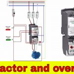 How To Wire A Contactor And Overload   Direct Online Starter.   Youtube   Contactor Wiring Diagram