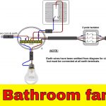 How To Wire Bathroom Fan Uk   Youtube   Wiring A Bathroom Fan And Light Diagram
