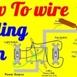 How To Wire Ceiling Fan With Light Switch   Youtube   Ceiling Fan Switch Wiring Diagram