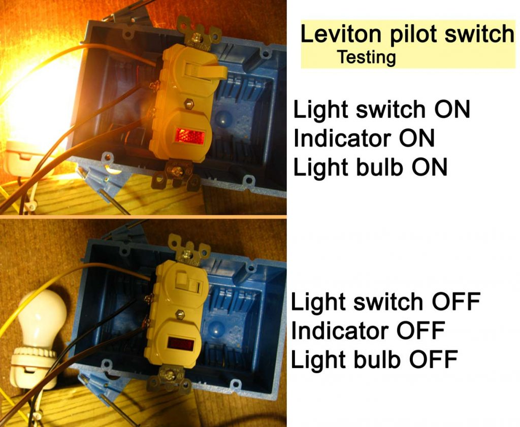 How To Wire Cooper 277 Pilot Light Switch