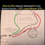 How To Wire Starter Button And Solenoid To An Atv 3 Wheeler 4   3 Pole Starter Solenoid Wiring Diagram