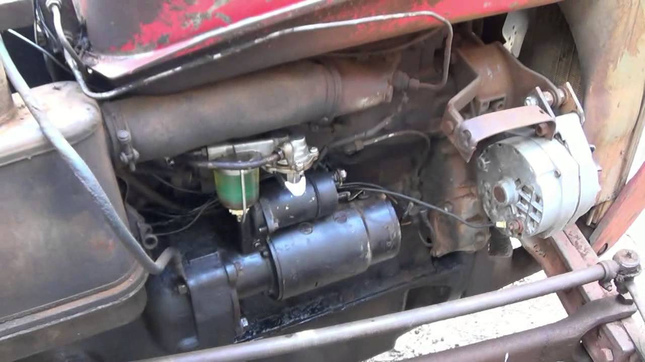 How To Wire Up A Single Wire Alternator For Tractors - Youtube - One Wire Alternator Wiring Diagram Ford