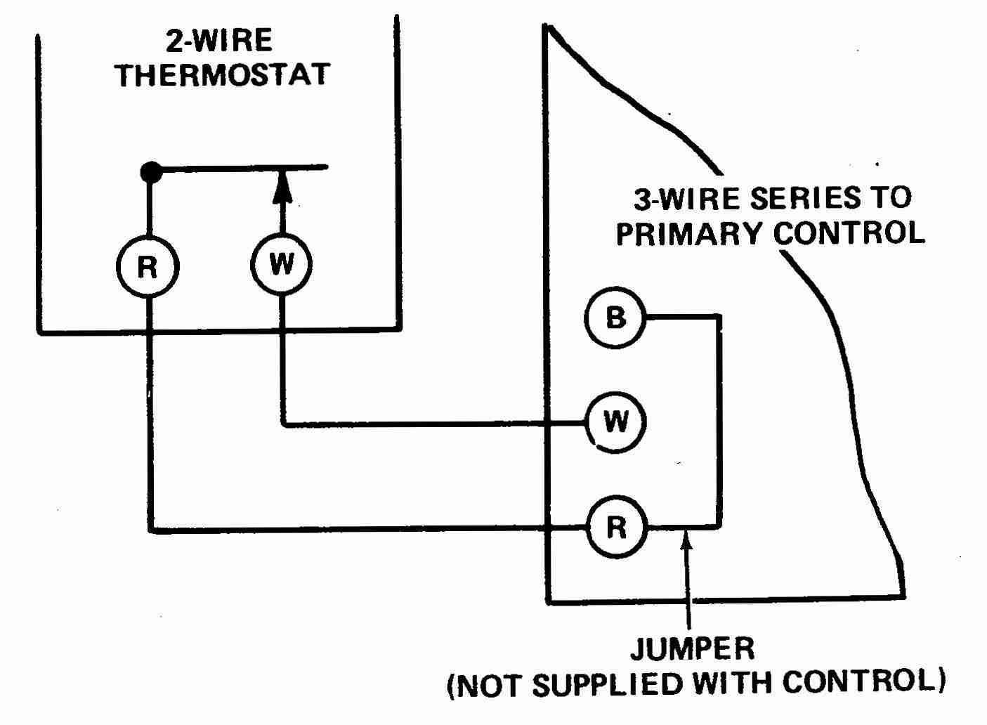 How Wire A White Rodgers Room Thermostat, White Rodgers Thermostat - Furnace Thermostat Wiring Diagram