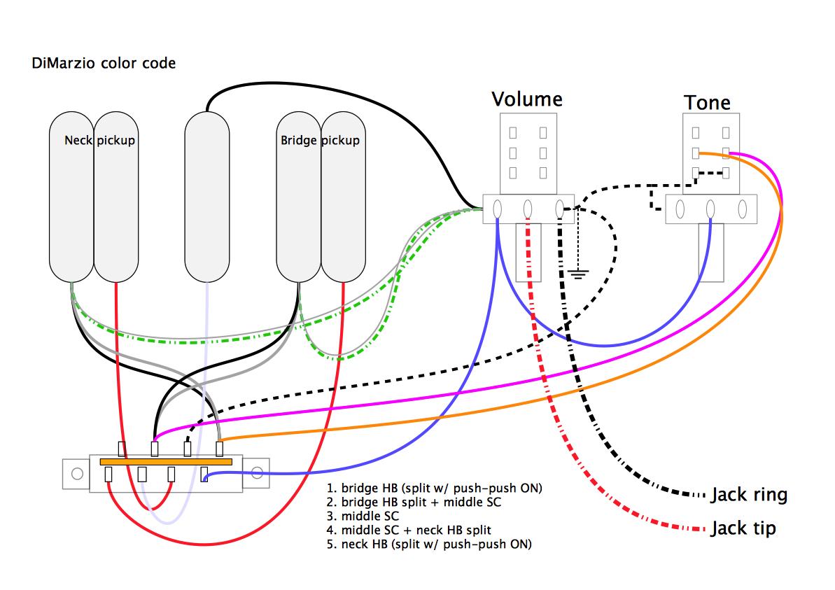Hsh Pickup Wiring 3   Schematic Diagram - Strat Wiring Diagram 5 Way Switch