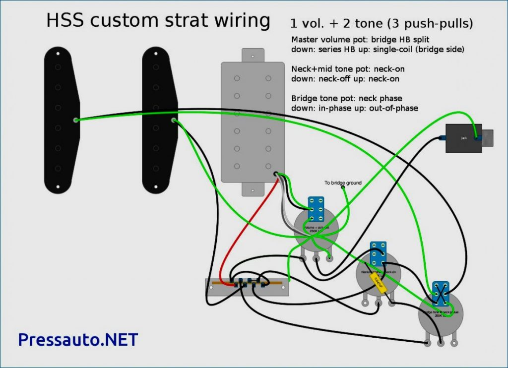 Hss Wiring Diagram Two Tone