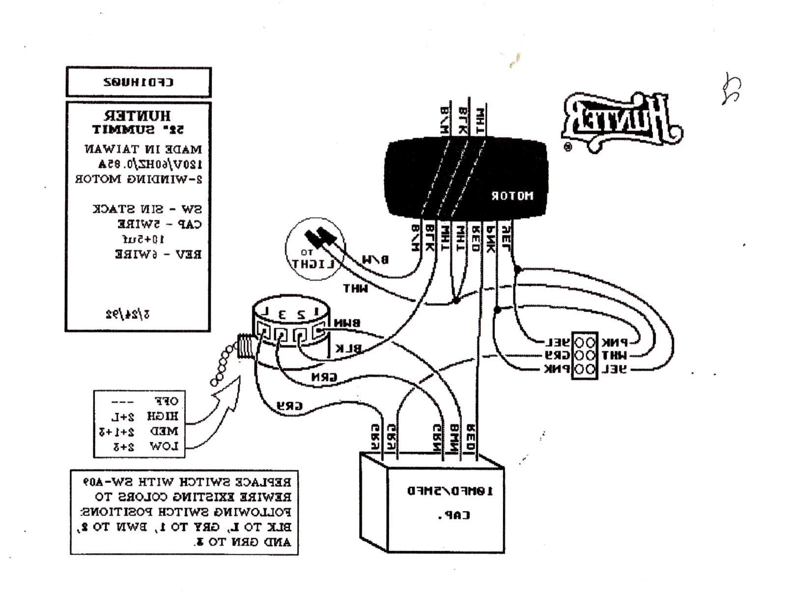 Hunter Fan Switch Wiring | Schematic Diagram - Hunter 3 Speed Fan Switch Wiring Diagram