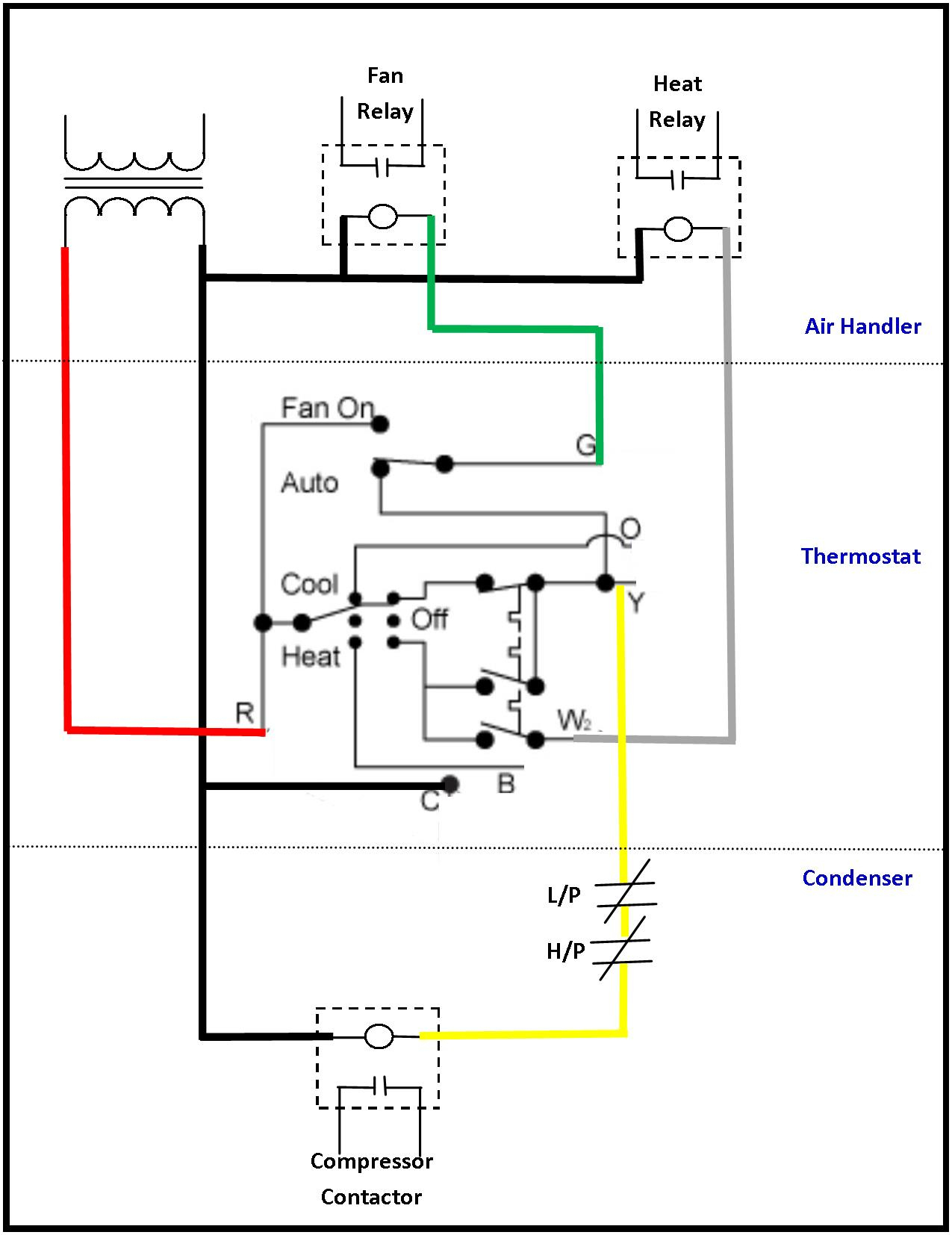Hvac Blower Motor Relay Wiring Diagram | Wiring Diagram - Hvac Relay Wiring Diagram