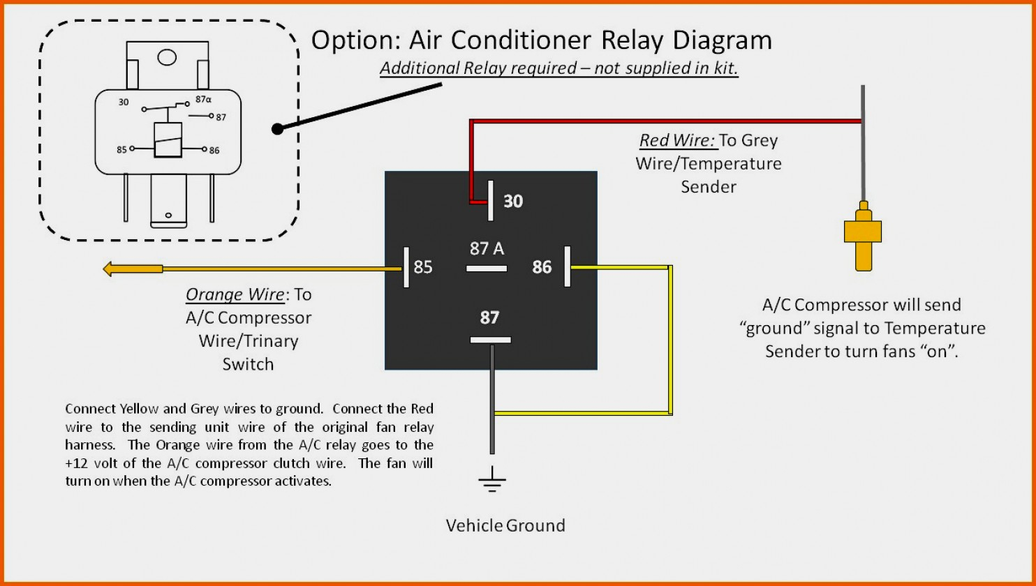 Hvac Blower Relay Wiring | Manual E-Books - Fan Relay Wiring Diagram