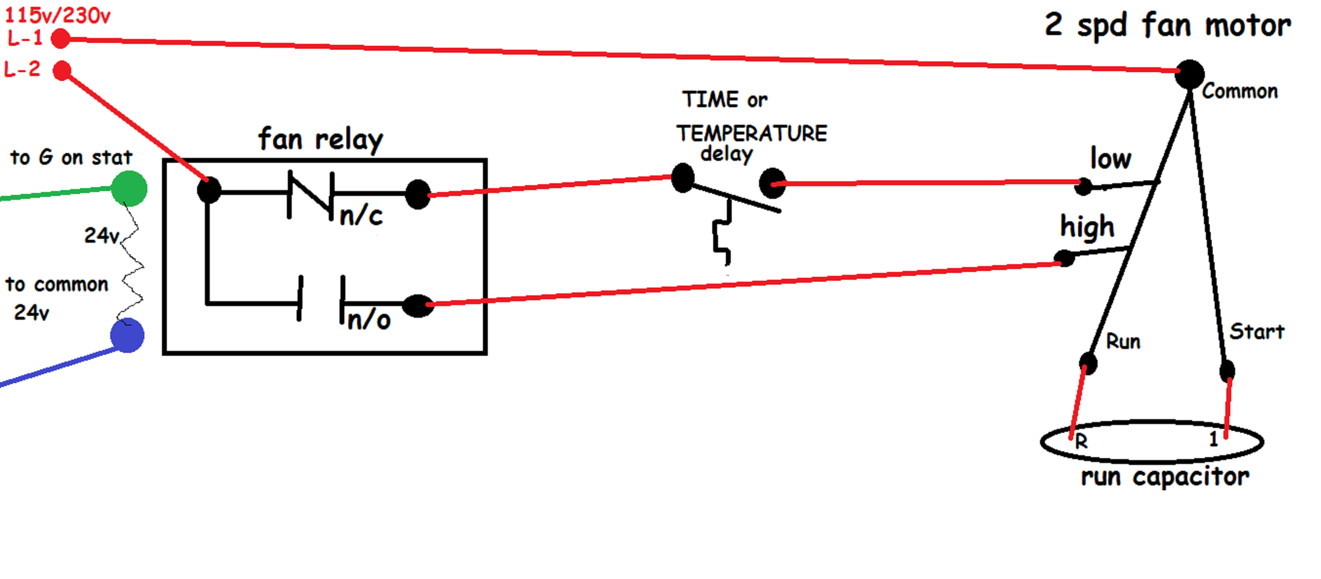 Hvac - How Should I Wire This White-Rodgers Fan And Limit Control - Honeywell Fan Limit Switch Wiring Diagram