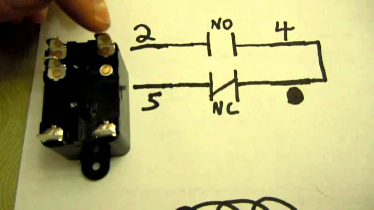 Hvac More About Spst, Spdt And Spno-Spnc Relays - Youtube - Air Handler Fan Relay Wiring Diagram