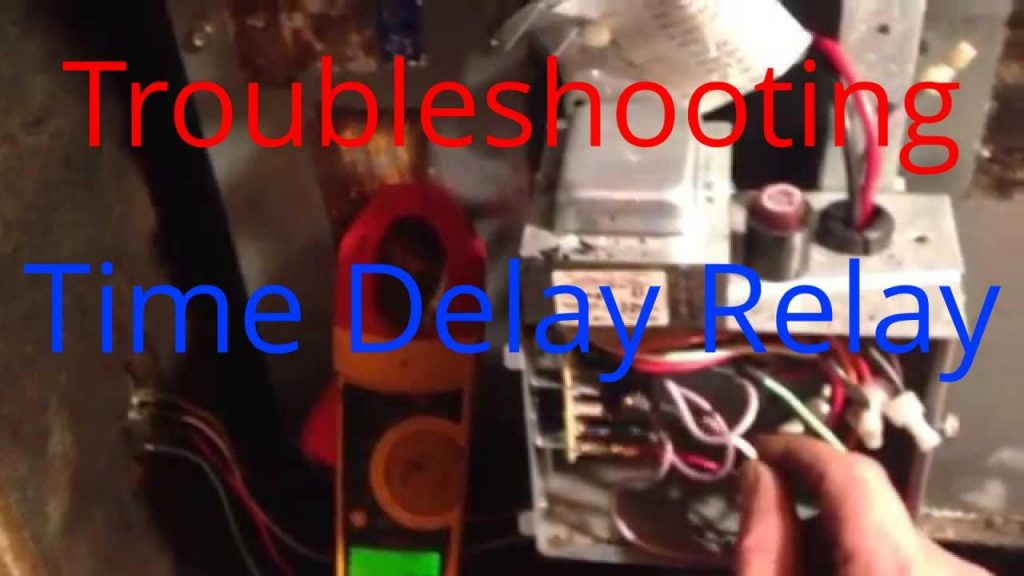Hvac Service  Troubleshooting Time Delay Fan Relay On A