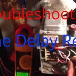 Hvac Service: Troubleshooting Time Delay Fan Relay On A Trane Air   Cooling Fan Relay Wiring Diagram