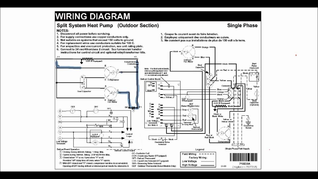 Hvac Training - Schematic Diagrams - Youtube - Hvac Wiring Diagram