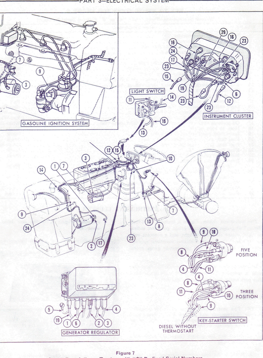 I Have A Ford 555 Backhoe That A Kid Working For Me Pulled The Wires - Ford Tractor Ignition Switch Wiring Diagram