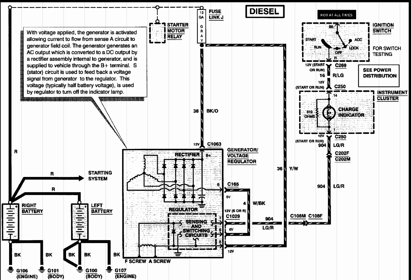 I Need A Wiring Diagram For A 97 F350 7.3 Powerstroke With E4Od - 7.3 Powerstroke Wiring Diagram