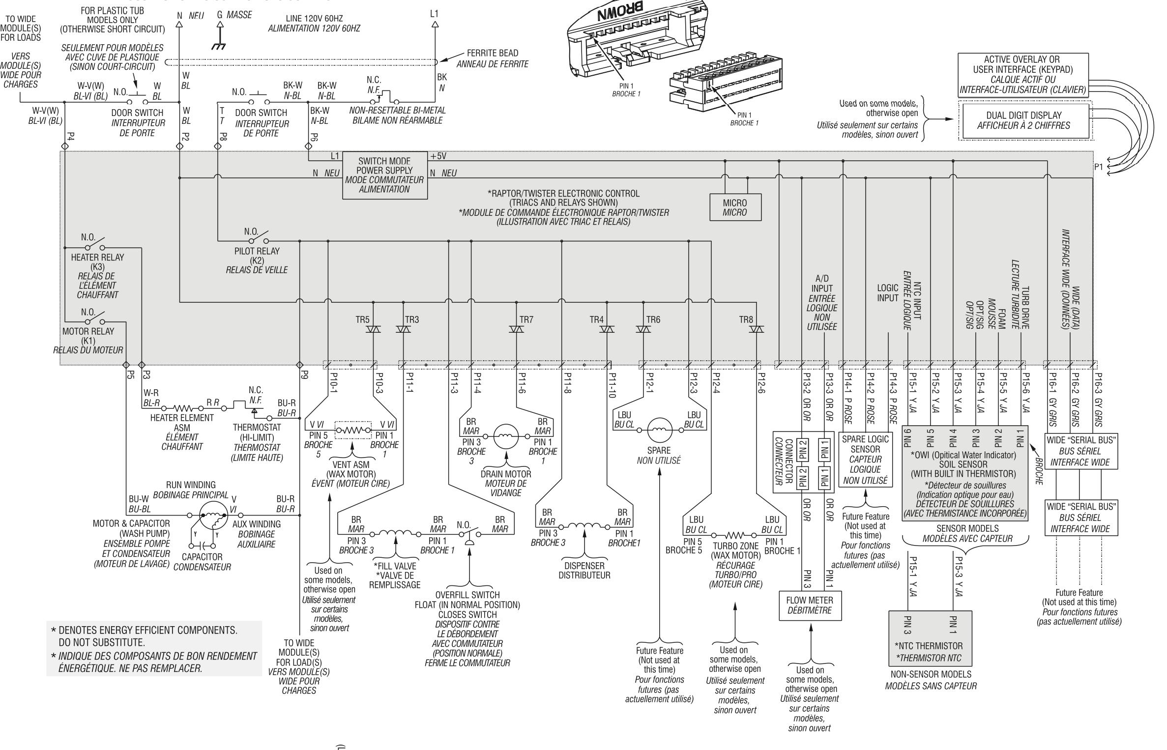I Need A Wiring Diagram For A Mod Mdbh979Awb2 Dishwasher. It Is A - Ac Unit Wiring Diagram