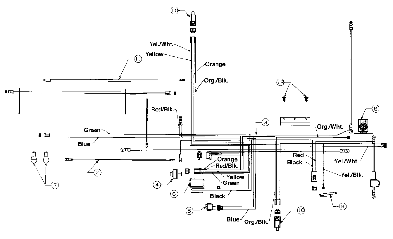 I Need The Wiring Diagram For Lawn Tractor Yard Machine Model 46Sd - Riding Lawn Mower Wiring Diagram