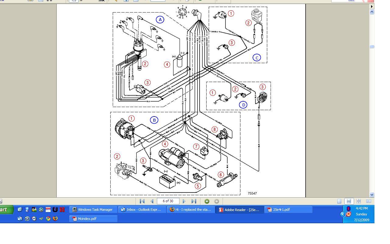 I Replaced The Starter In My 4.3L V6 Mercruiser Engine (Thunderbolt - Mercruiser 4.3 Wiring Diagram