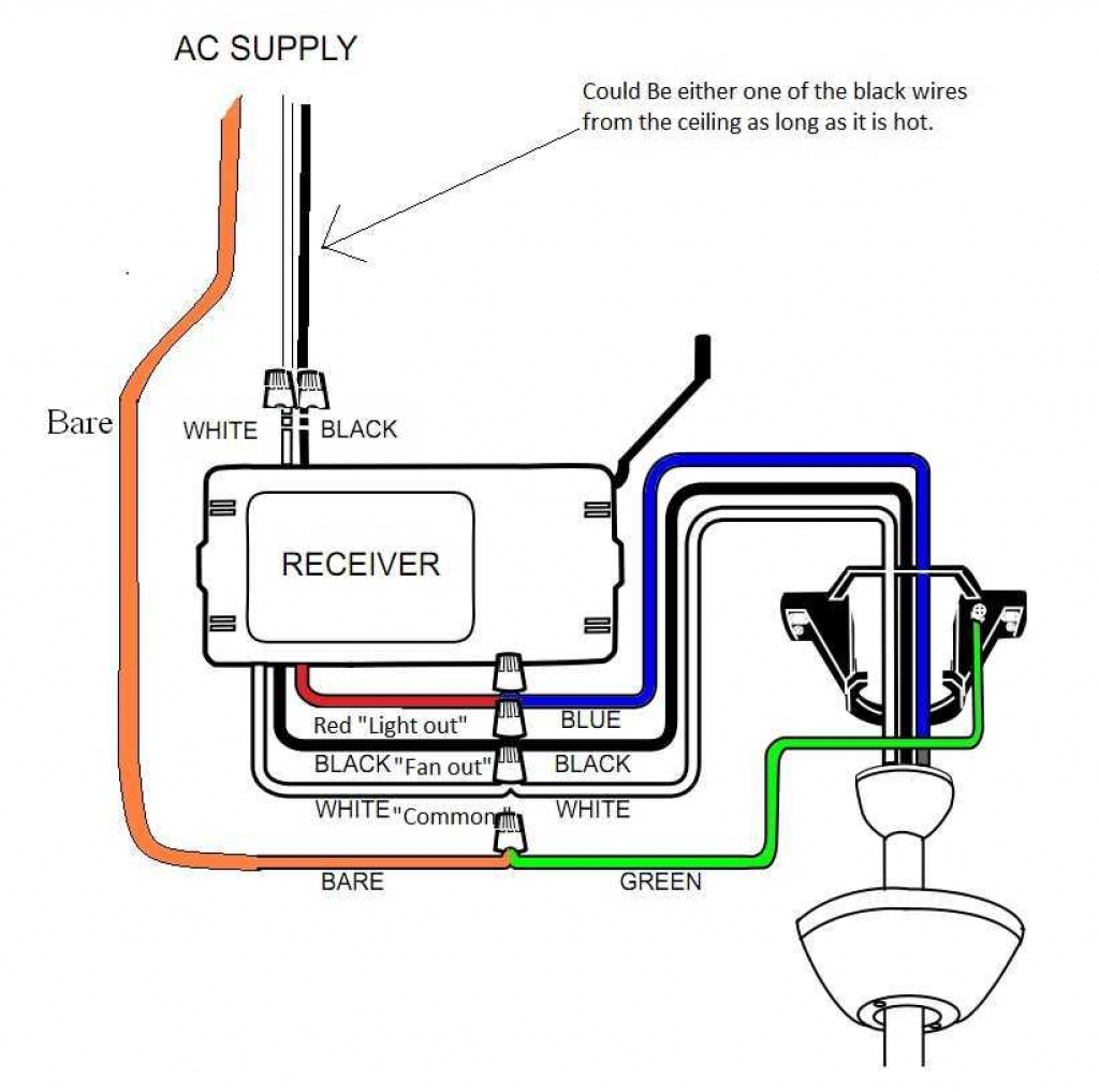 Idea Of Wiring Diagram Harbor Breeze Ceiling Fan 4 Wire Switch - Harbor Breeze Ceiling Fan Switch Wiring Diagram