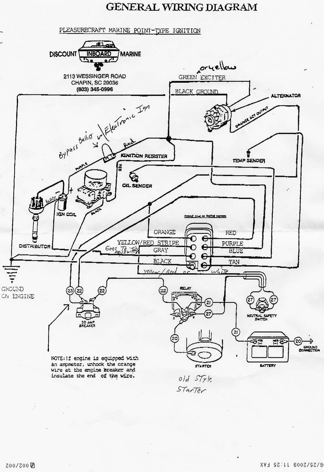 Ignition Switch - 82 Ski Nautique - Correctcraftfan Forums - Boat Ignition Switch Wiring Diagram