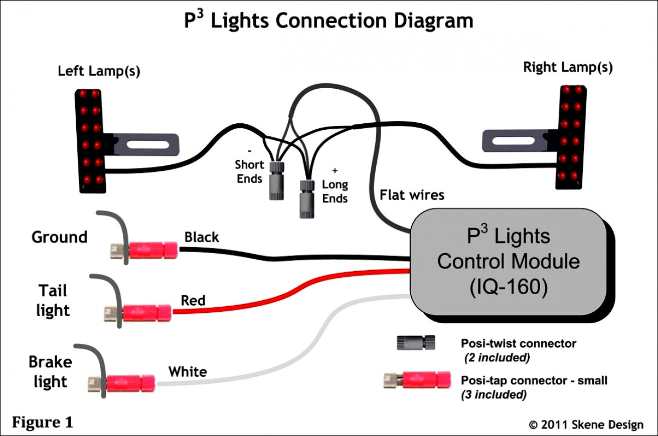 Inspirational Christmas Light Wiring Diagram 3 Wire Lights Circuit - 3 Wire Tail Light Wiring Diagram