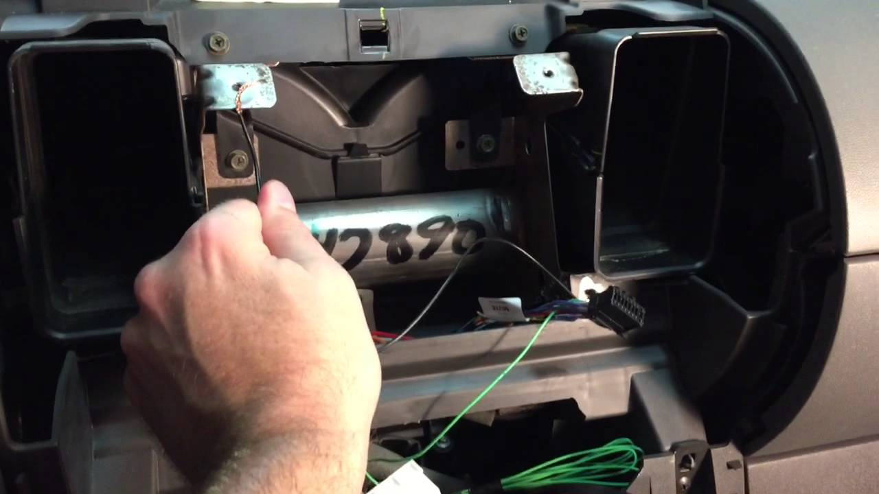 Install Double Din Pioneer Appradio 4 Stereo In 2006 Nissan Xterra - Pioneer Head Unit Wiring Diagram