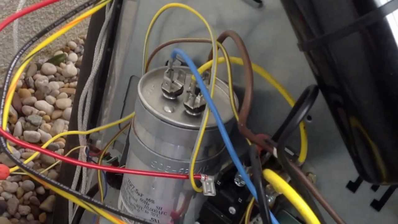 Installing A 5-2-1 Hard Start Capacitor Kit On A Tempstar/carrier - Ac Condenser Wiring Diagram