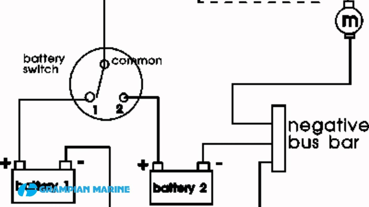 Installing A Second Battery In A Boat - Youtube - Boat Dual Battery Wiring Diagram