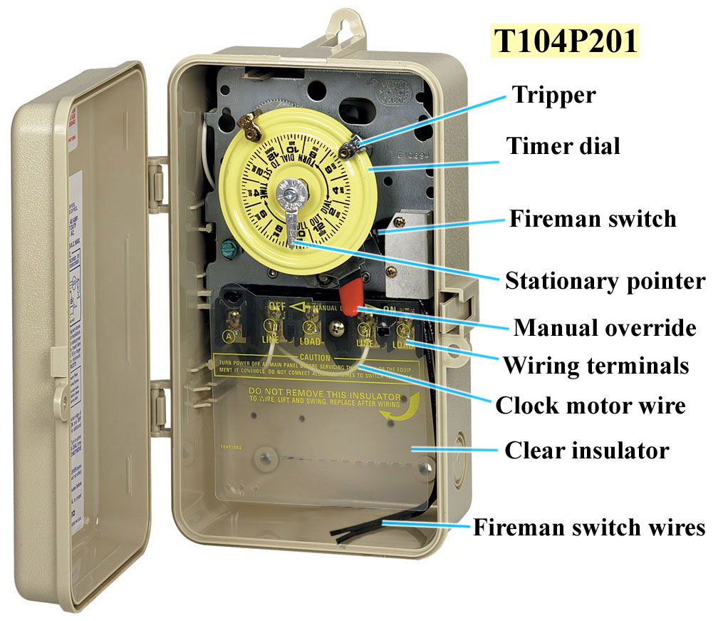 Pool Timer Switch Wiring Diagram