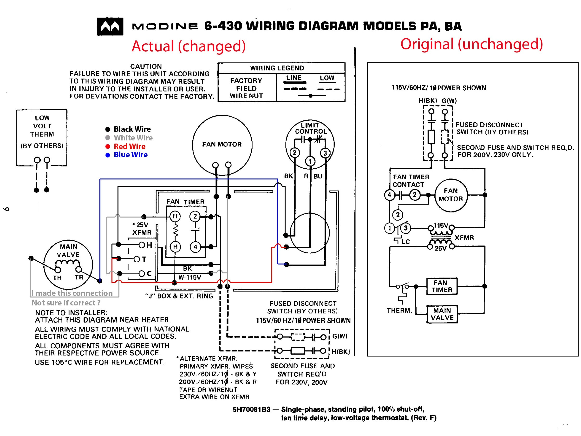 Intertherm Heater Wiring Diagram   Wiring Diagram - Cummins Grid Heater Wiring Diagram