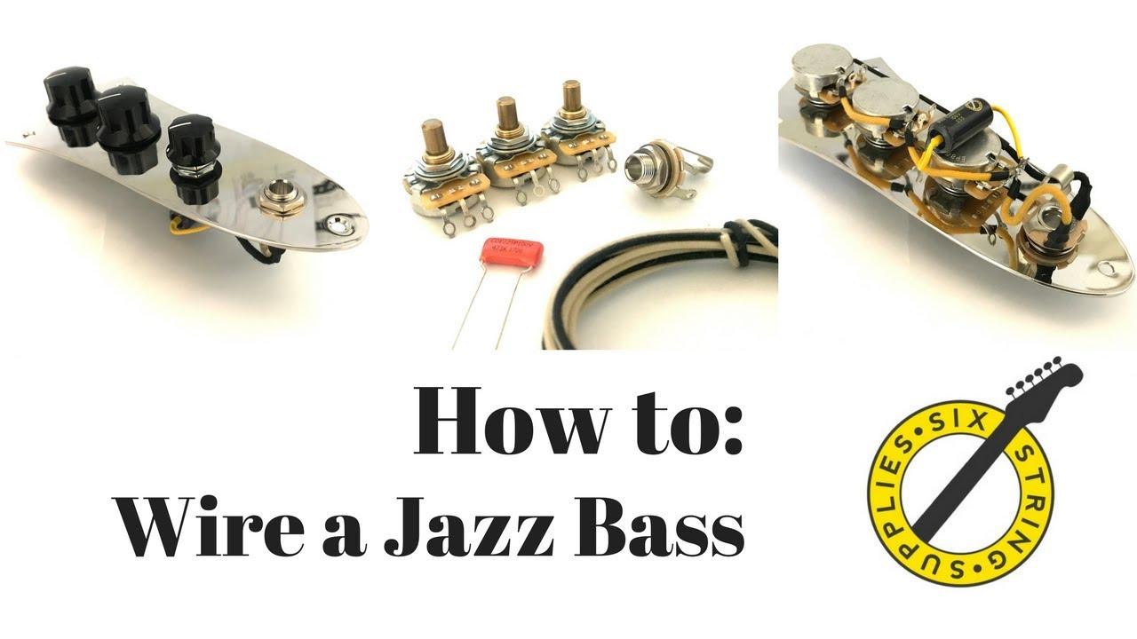 Jazz Bass Wiring - How To Wire A Fender Jazz Bass - Youtube - Jazz Bass Wiring Diagram