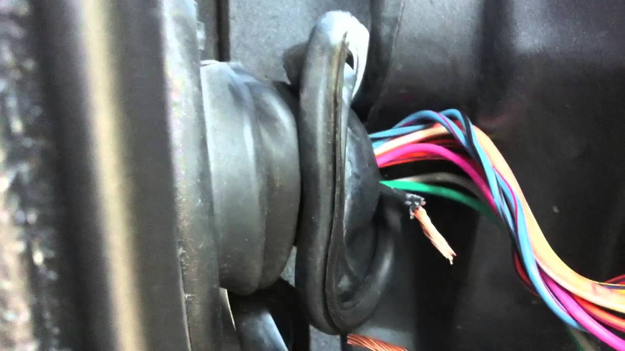Jeep Door Wire Repair - Youtube - 2004 Jeep Grand Cherokee Door Wiring Harness Diagram