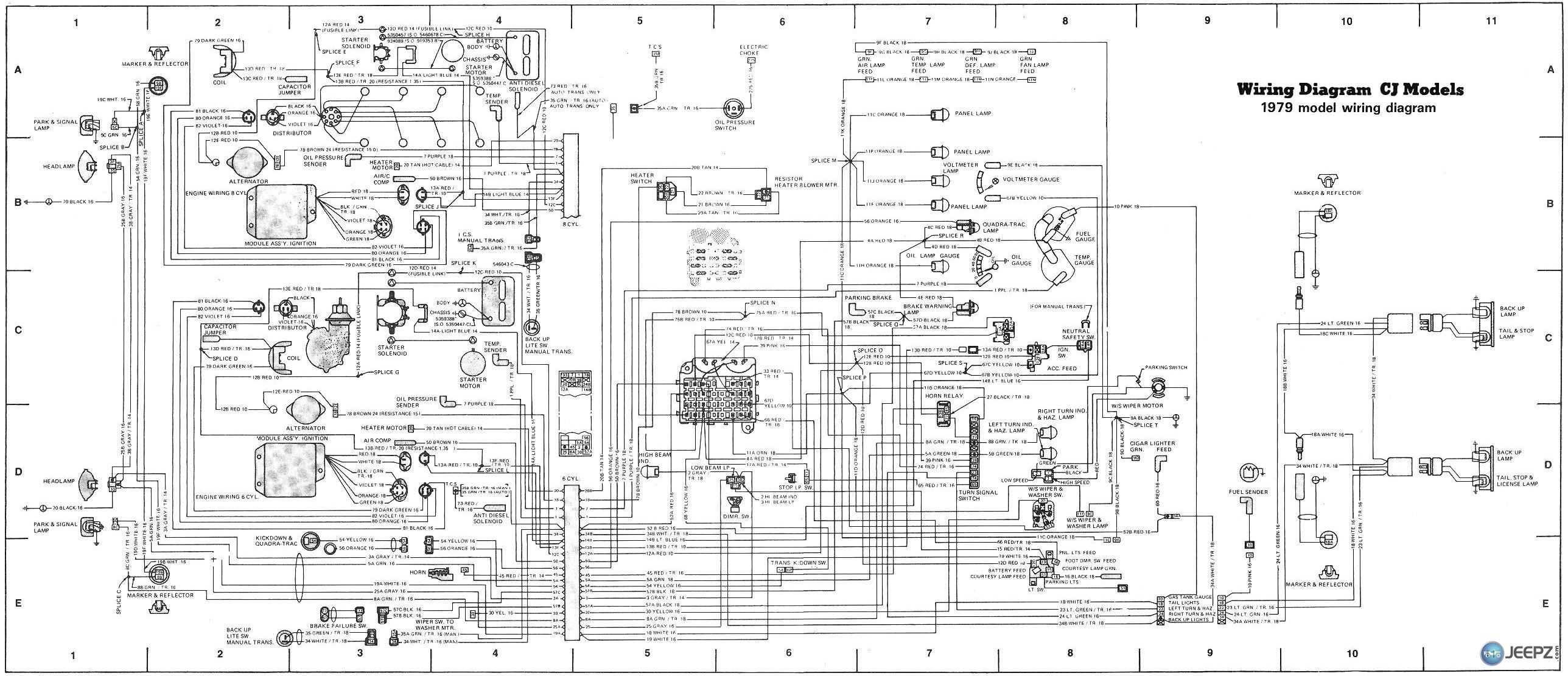 Jeep Wiring Schematic - All Wiring Diagram Data - Power Wheels Wiring Diagram