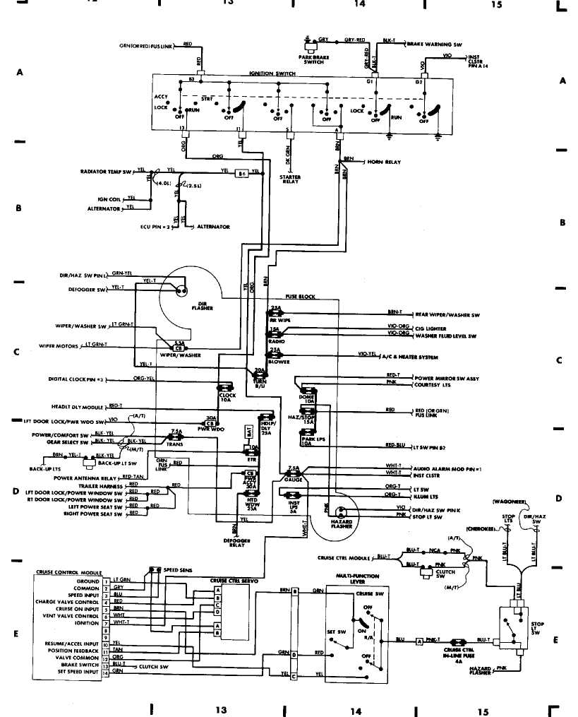 Jeep Wrangler Wiring Harness Diagram | Schematic Diagram - 2000 Jeep Grand Cherokee Radio Wiring Diagram