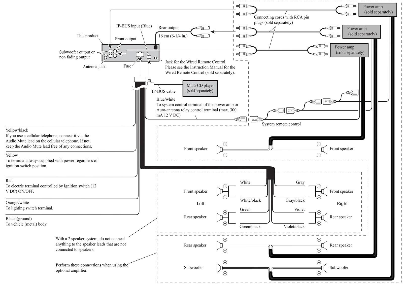 Kd R330 Jvc Car Stereo Wiring Diagram | Wiring Diagram - Jvc Kdr330 Wiring Diagram