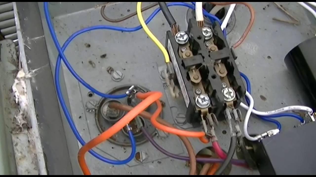 Kickstart T05/ks1 Central A/c Hard Start Kit Installation - Youtube - Hard Start Capacitor Wiring Diagram